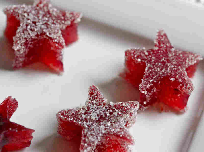 Cranberry Fruit Jellies