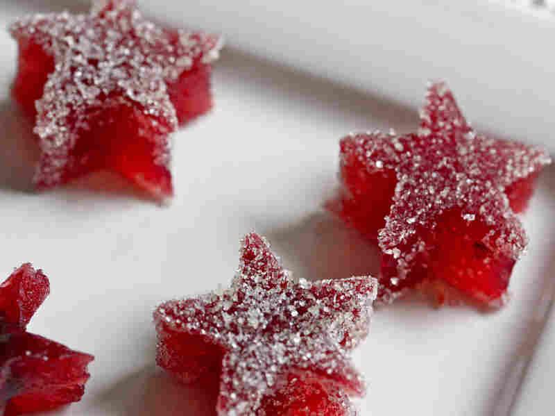 Cranberry Fruit Jellies