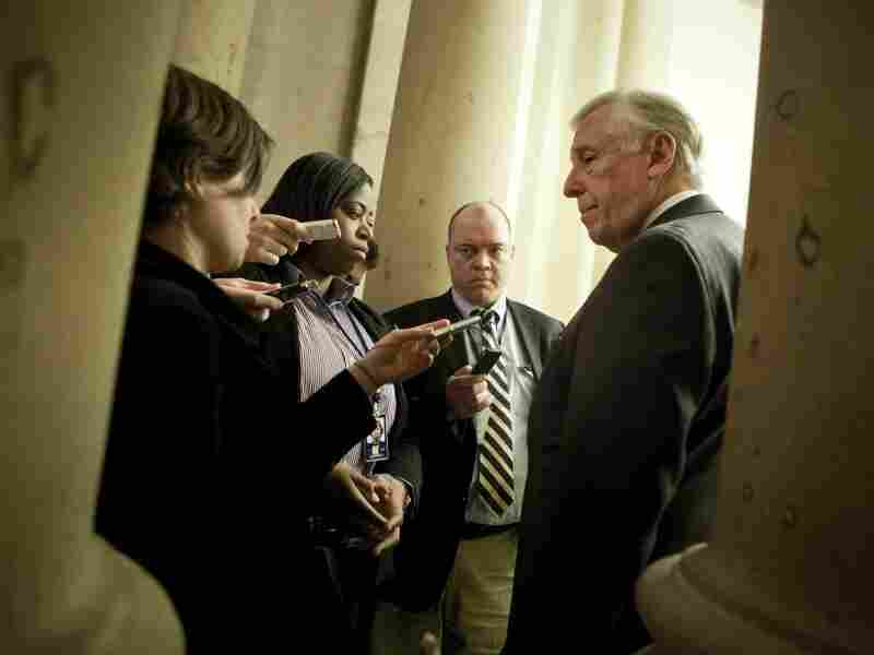 House Majority Leader Steny Hoyer (D-MD) spoke with reporters Thursday before the House voted to extend the Bush-era tax cuts.