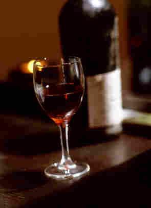 Port wine.
