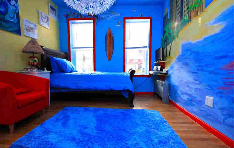 Lashauna's room, after