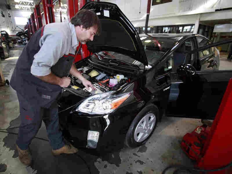 Toyota's brake problems hurt the company's reputation.