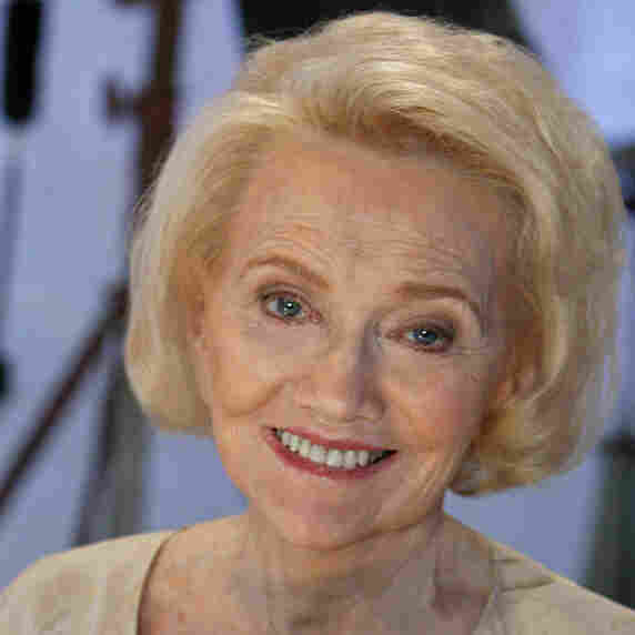 Agnes Nixon, creator of All My Children and One Life To Live, at the OLTL 40th anniversary celebration in 2008.