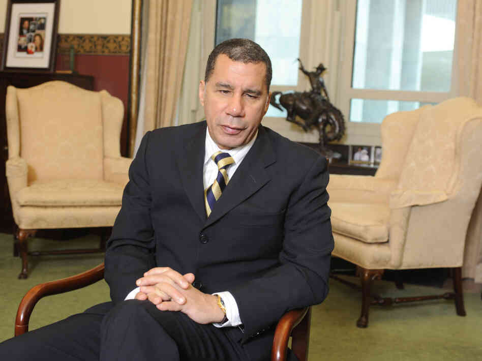 New York Gov. David Paterson Nov. 30, 2010.
