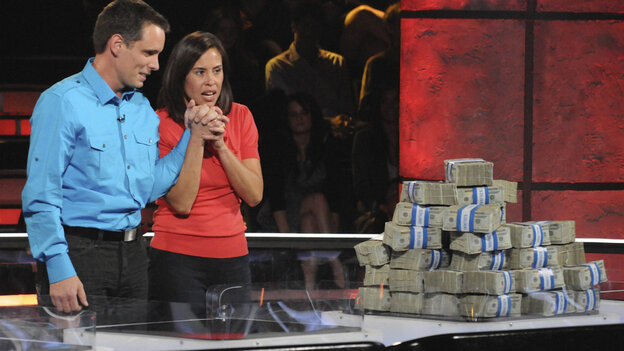 Contestants on Fox's 'Million Dollar Money Drop' consider their options. The show premieres December 20 at 8:00 p.m.