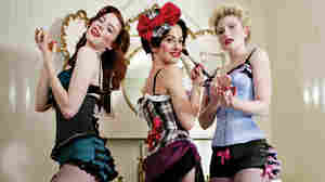 The Puppini Sisters performed live on World Cafe.