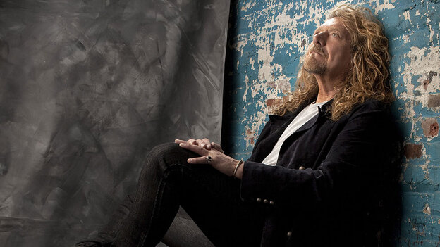 Former Led Zeppelin singer Robert Plant performed on World Cafe.