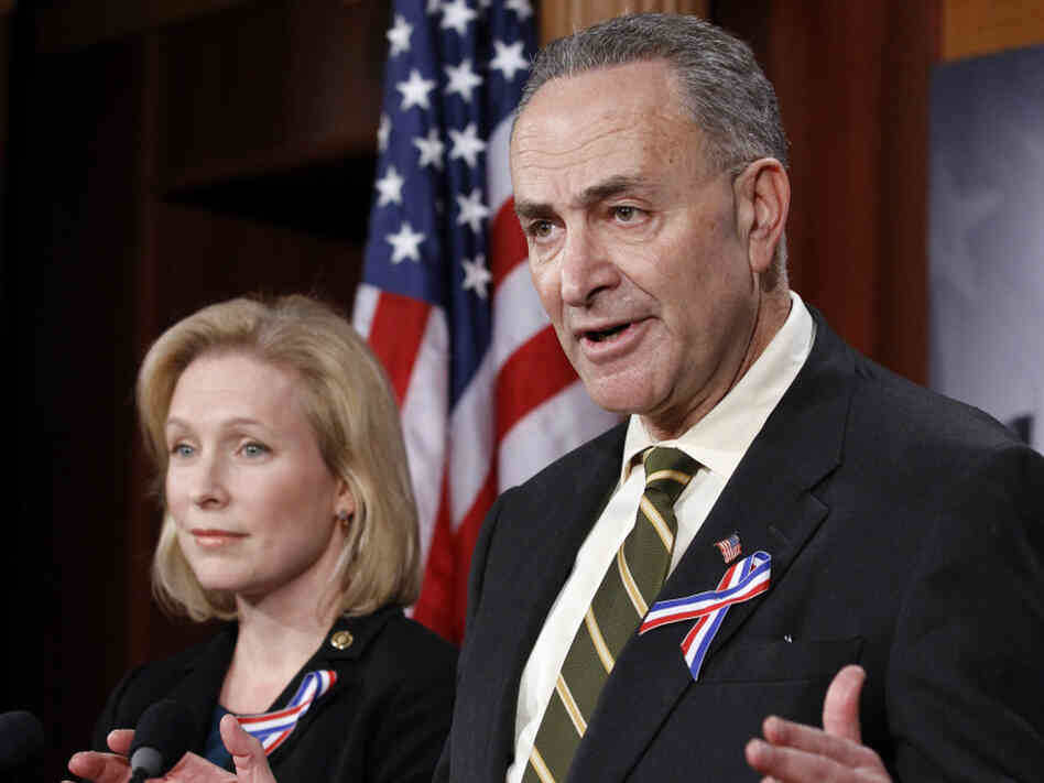 "Sen. Charles Schumer (D-NY) said ""I think we'll be there"" in terms of votes to ratify New START."