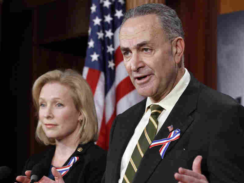 """Sen. Charles Schumer (D-NY) said """"I think we'll be there"""" in terms of votes to ratify New START."""