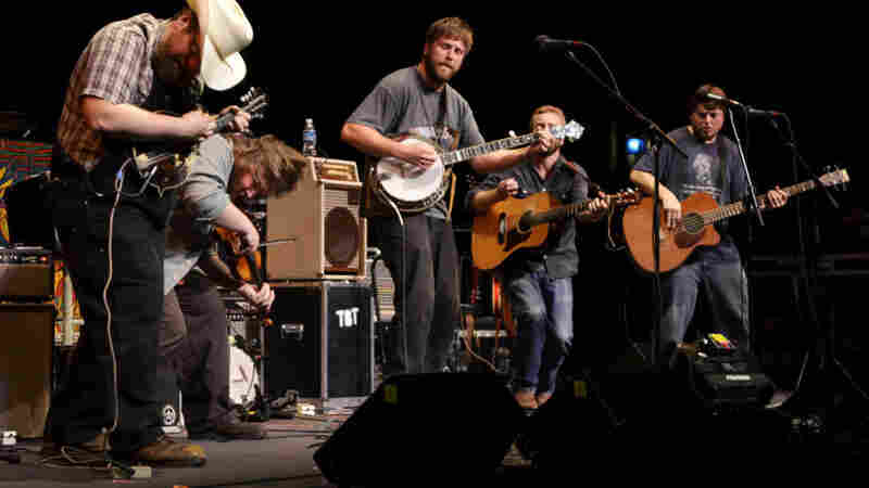 Trampled By Turtles On Mountain Stage