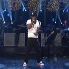 "Lil Wayne performing the song ""6'7'"" on stage at ""Saturday Night Live"" just days after it was released on iTunes."