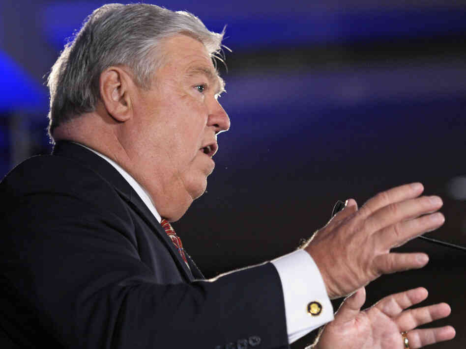 Mississippi Gov. Haley Barbour, chairman of the Republican Governors Association.