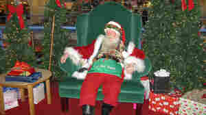 Santa Worries About Money, Too