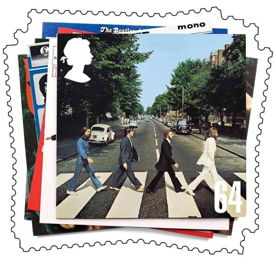 Britain released a stamp in 2006 honoring The Beatles.