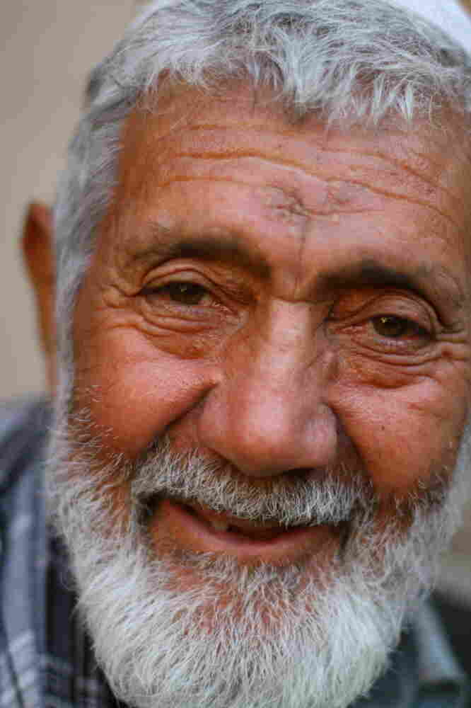 Haidarab lives in Kabul's Old City, where he helps supervise a project to restore centuries-old homes and courtyards.