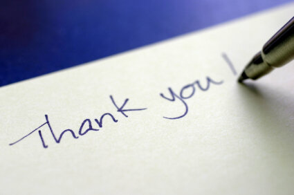 10 tips for writing the perfect thank you note