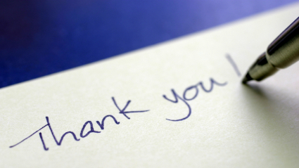 Perfect Thank You Notes: Heartfelt And Handwritten : NPR