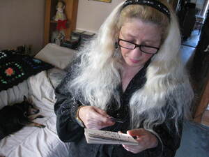 Debra Dahlmer has been trying to get a loan modification through Bank of America for more than a year. She's legally blind in one eye and can barely see with the other.