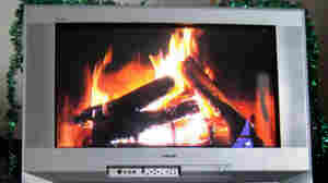 The 2009 Yule Log -- HD, but not 3-D.