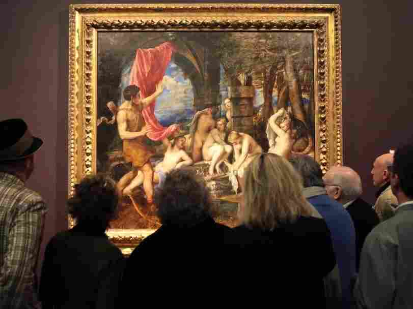 Titian's'Diana and Actaeon' at the National Gallery in London may be one of the paintings in danger of damage.
