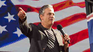 "During his Rally To Restore Sanity in October, comedian Jon Stewart told the crowd on the National Mall, ""The press can hold its magnifying glass up to our problems."" Or, he added, ""they can use that magnifying glass to light ants on fire."""