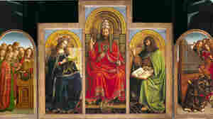 TheGhent Altarpiece by Jan van Eyck, is considered the first great painting of the Renaissance.