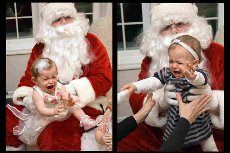 Oh man, nobody wants to hang out with Santa.