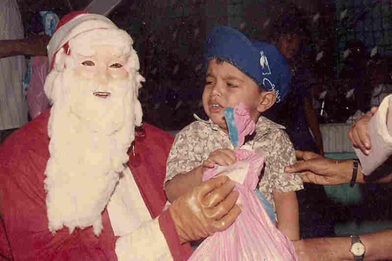 Okay, this Santa is just plain terrifying.