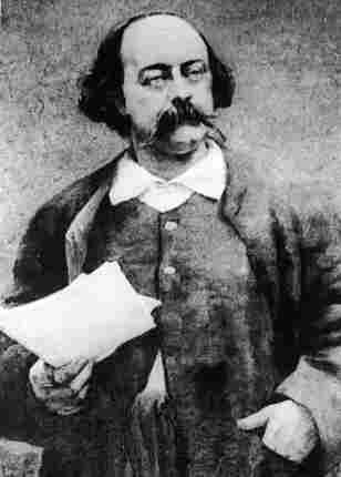 A portrait of French novelist Gustave Flaubert by Paul Baudoin.