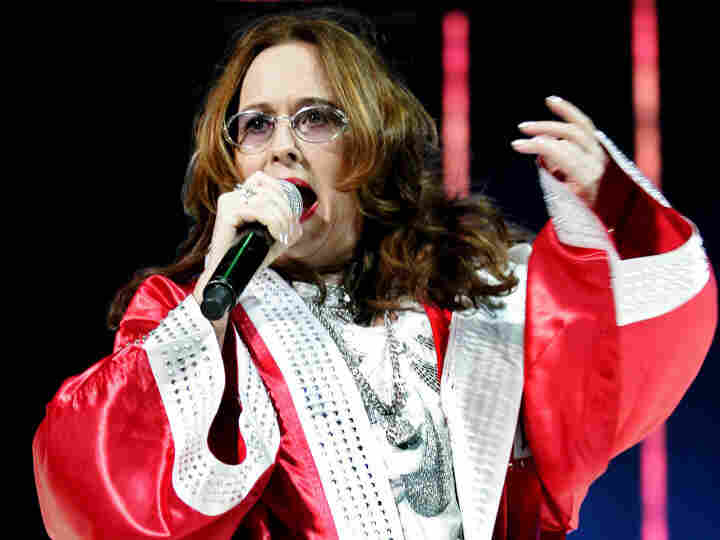 July 5, 2009 file photo: Teena Marie performs during the Essence Music Festival at the Louisiana Superdome in New Orleans. Marie, 54, died over the weekend.