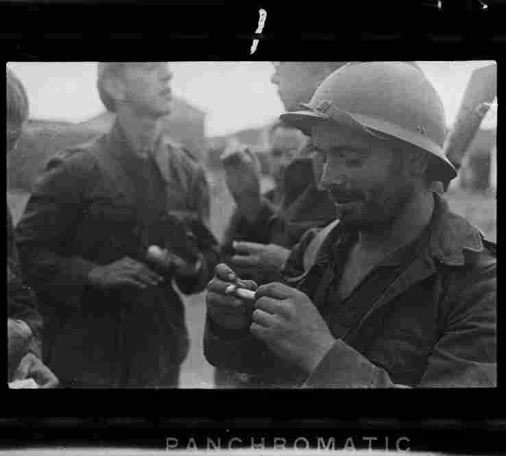 Republican soldiers, La Granjuela, Cordoba front, Spain, June 1937