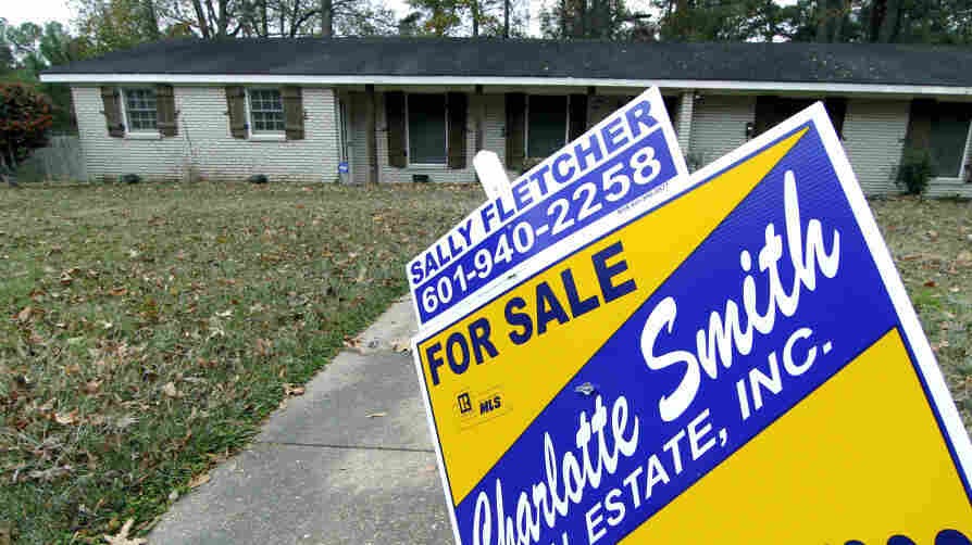 A home for sale in Jackson, Miss., earlier this month.