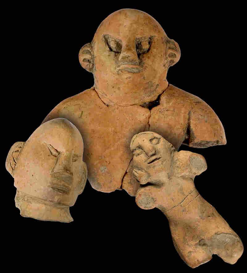 Hopewell Clay Figurines