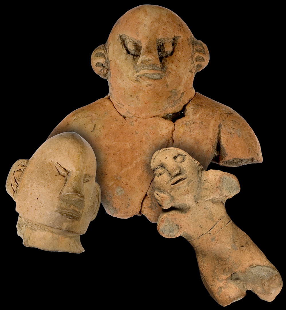Hopewell Clay Figurines