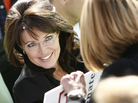 Former Alaska Gov. Sarah Palin at a rally in West Virgina on Oct. 30, 2010.