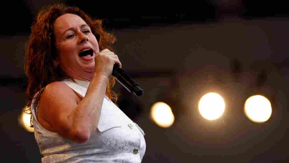 Teena Marie performs at the New Orleans Jazz & Heritage Festival in May 2010.