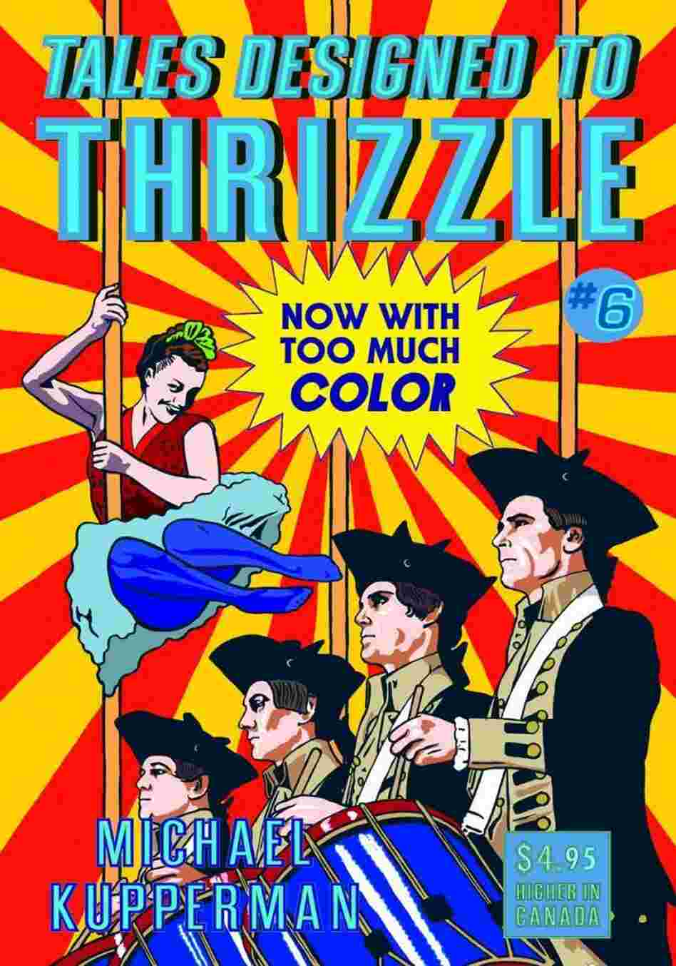 Cover of Tales Designed to Thrizzle #6