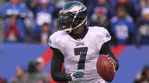 Quarterback Michael Vick of the Philadelphia Eagles during a game against the New York Giants on Dec. 19.