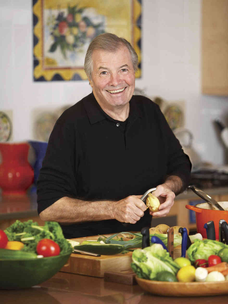 At 75, French chef Jacques Pepin has spent the greater part of his life in a kitchen savoring food.