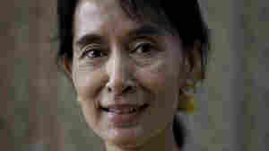 Aung San Suu Kyi poses for a portrait at the National League for Democracy (NLD) headquarters in Rangoon on Dec. 8, 2010.