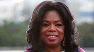 Oprah Winfrey in Sydney in December