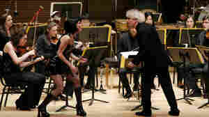 Academy students work three days a week, 30 weeks a year, on the very highest musical level and performing on one of Carnegie's stages with the likes of conductor Sir Simon Rattle.