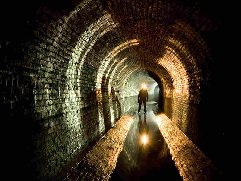 Duncan took this self-portrait in New York City's Croton Aqueduct in 2006.