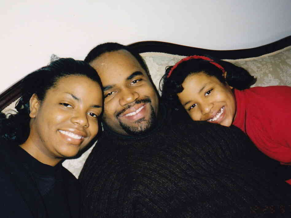 LaKisha, Bill, and Priska Neely.
