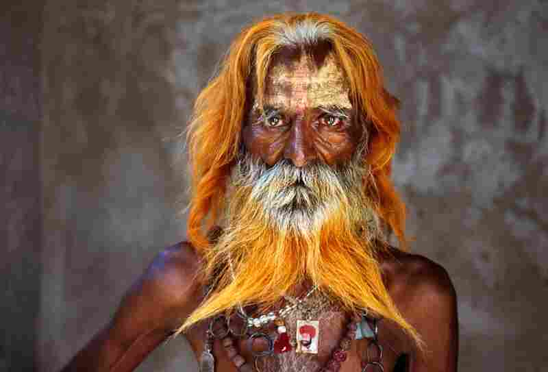 Rabari tribal elder, India