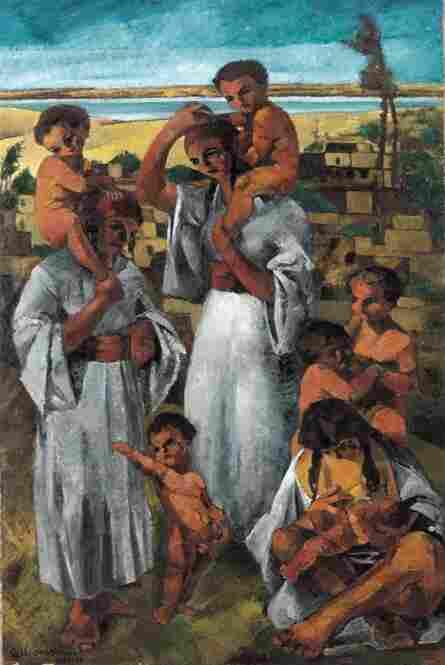Georges Sabbagh, Maternites Arabes (Arab Motherhood), 1920-21