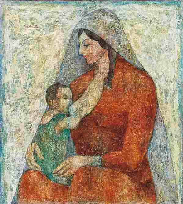 Louay Kayyali, The Mother, 1961