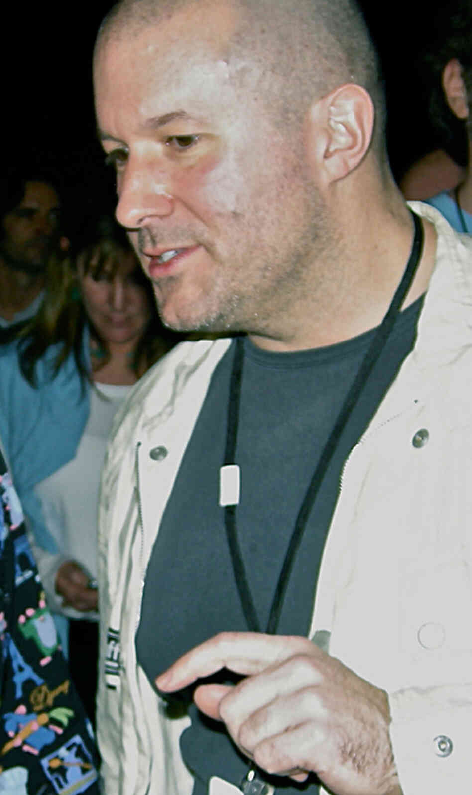 Jonathan Ive at the opening of Macworld Expo 2008.