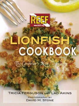 The Lionfish Cookbook cover.