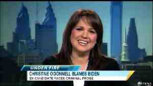 Christine O'Donnell, during an appearance on ABC's 'Good Morning America,' Dec. 30, 2010.